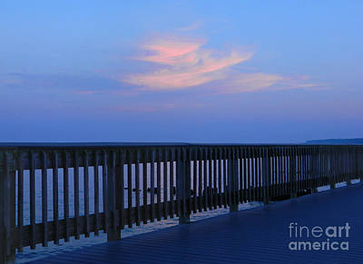 Art Print featuring the photograph Alls Quiet On The Beach Front by Emmy Marie Vickers