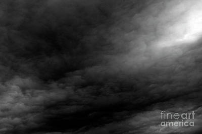 Photograph - Alltocumulus Clouds At Sunset Dramatic Light by Jim Corwin