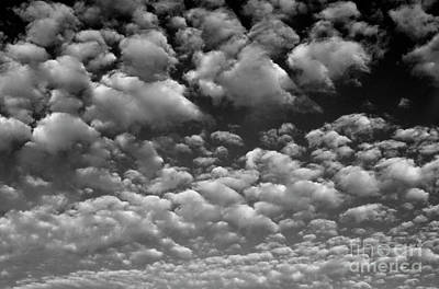 Photograph - Alltocumulus Clouds by Jim Corwin