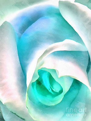 Blue Flowers Photograph - Alluring Blue by Krissy Katsimbras