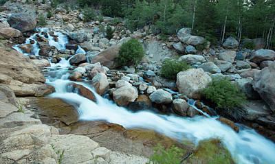 Photograph - Alluvial Falls by Sean Allen