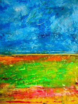 Painting - Alluvium by Michael Baroff