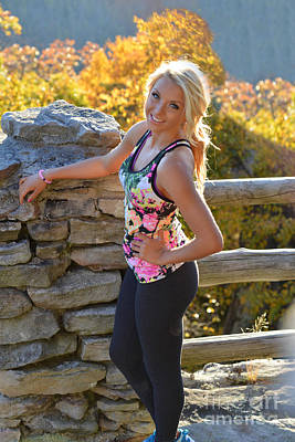 Photograph - Ally At Coopers Rock by Dan Friend