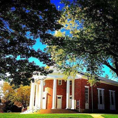 Photograph - Alma College Dunning Memorial Chapel by Chris Brown