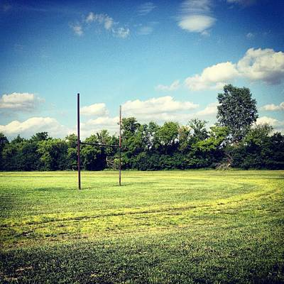 Photograph - Alma High School Athletic Fields Old by Chris Brown