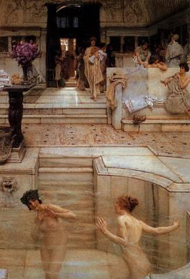 Digital Art - Alma Tadema A Favourite Custom by Sir Lawrence Alma Tadema
