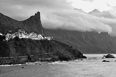 Photograph - Almaciga Tenerife Canary Islands Monochrome by Marek Stepan