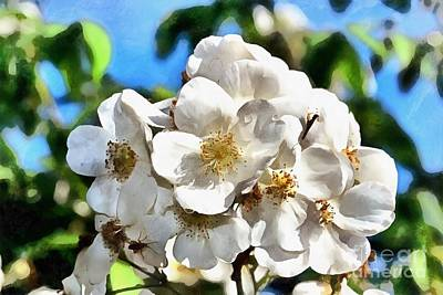 Painting - Almond Tree Flower by George Atsametakis