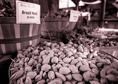 Photograph - Almonds By The Bushel by Caitlyn Grasso
