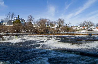 Farmhouse Rights Managed Images - Almonte Spring 4 Royalty-Free Image by Bob Corson