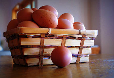 Abstract Male Faces - Almost All My Eggs in One Basket by Cricket Hackmann