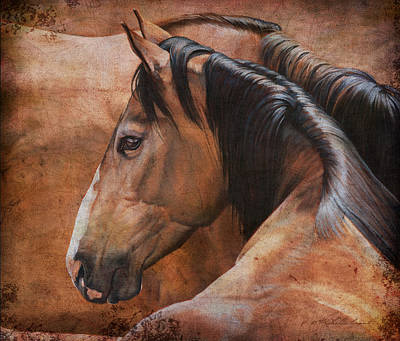 Equestrian Painting - Almost Dun by JQ Licensing
