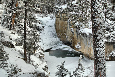 Photograph - Almost Frozen At Jasper by Adam Jewell