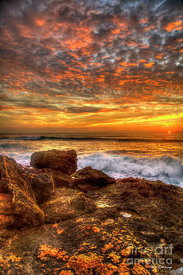 Photograph - Almost Gone Waianae Oahu Sunset Hawaii Collection Art by Reid Callaway