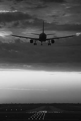 Airliners Photograph - Almost Home by Andrew Soundarajan