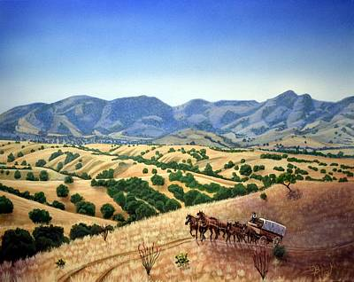 Rita Painting - Almost Home To Empire Ranch by Jerry Bokowski
