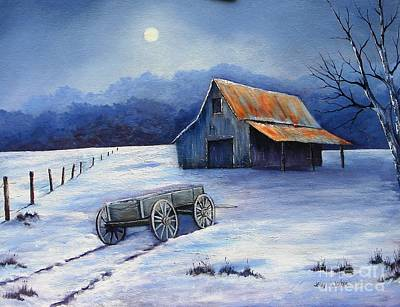 Painting - Almost Home by Jerry Walker