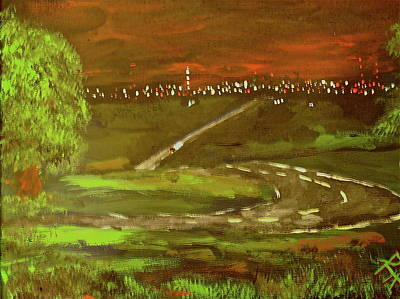 Over Hang Painting - Almost Home by R Allan Lister