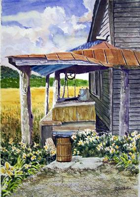 Painting - Almost Indoor Plumbing  Sold by Jack Bolin