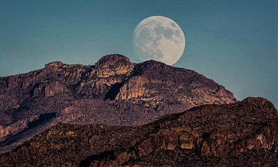 Photograph - Almost A Full Moon  by Saija Lehtonen