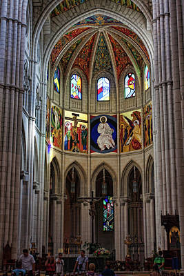 Photograph - Almudena Cathedral, Madrid #3 by Tatiana Travelways