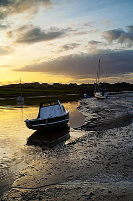 Modern Man Surf - Alnmouth at Sunset. by Paul Cullen