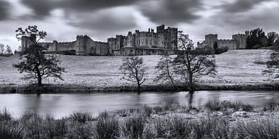 Photograph - Alnwick Castle In Winter by David Pringle