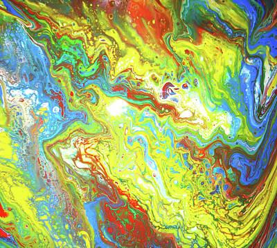 Painting - Aloa Aliens by Sir Josef - Social Critic -  Maha Art