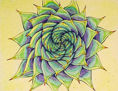 Aloe Design Art Print