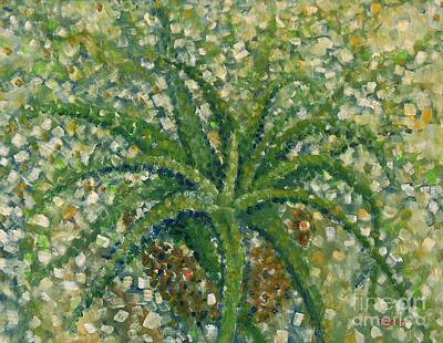 Aloe Vera Painting - Aloe by Jim Rehlin