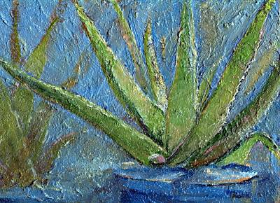Aloe Vera Painting - Aloe Vera by Jimmie Trotter