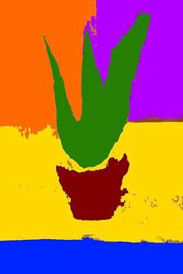 Aloe Vera Painting - Aloe Vera by Ninie AG