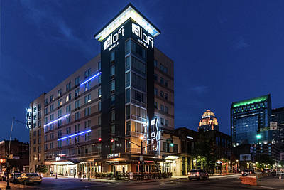 Photograph - Aloft Louisville by Randy Scherkenbach