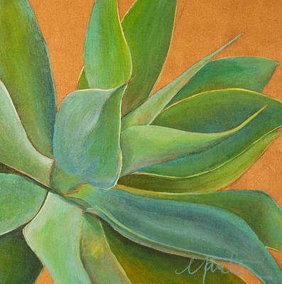 Agave Painting - Aloha 1 by Athena  Mantle