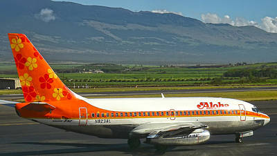 Photograph - Aloha Airlines by Waterdancer