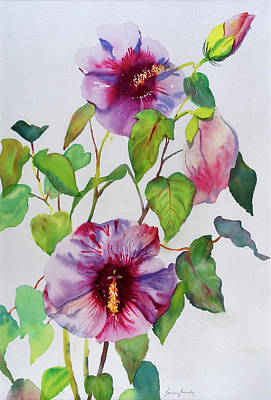 Painting - Aloha by Bonny Lundy