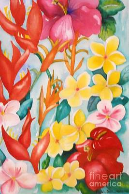 Painting - Aloha Color by Pamela Shearer