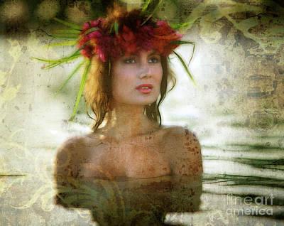 Digital Art - Aloha by Edmund Nagele