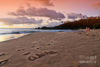 Photograph - Aloha Kaanapali Beach by DJ Florek