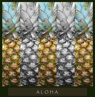 Mixed Media - Aloha by Mary Ellen Frazee