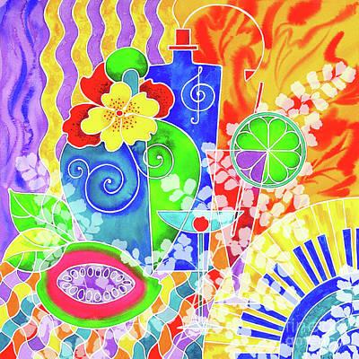 Wall Art - Painting - Aloha P1 by Svetlana Titarenko