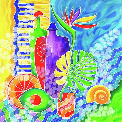 Wall Art - Painting - Aloha P5 by Svetlana Titarenko