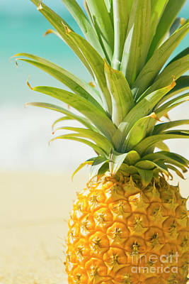 Photograph - Aloha Pineapple Beach Kanaha Maui Hawaii by Sharon Mau