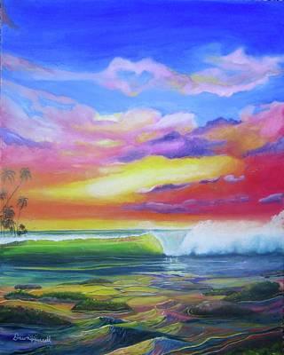 Aloha Reef Art Print