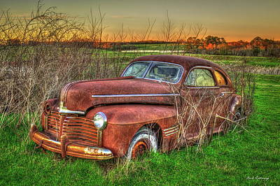 Photograph - Alone 1941 Pontiac Torpedo Coupe Art by Reid Callaway