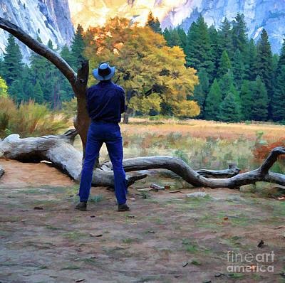 Photograph - Alone Among Nature Yosemite National Park  by Chuck Kuhn