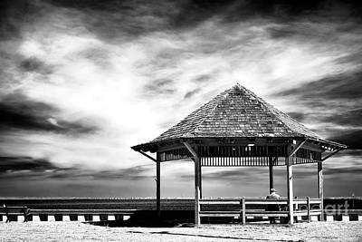 Photograph - Alone At Beach Haven by John Rizzuto
