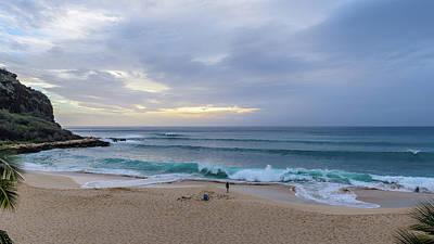 Photograph - Alone At The Beach by Jason Chu