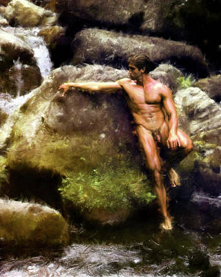 Painting - Alone By Water Of 2009 by Troy Caperton