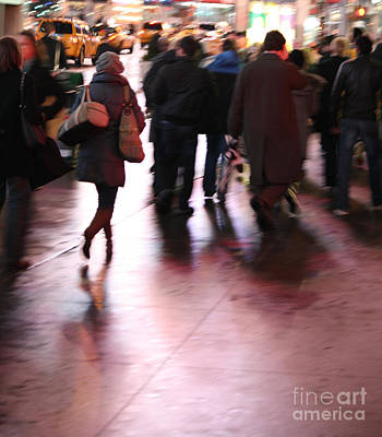Photograph - Alone In New York by Wilko Van de Kamp